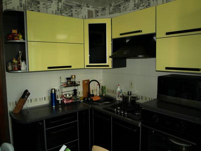 комбинированная мебель для кухни