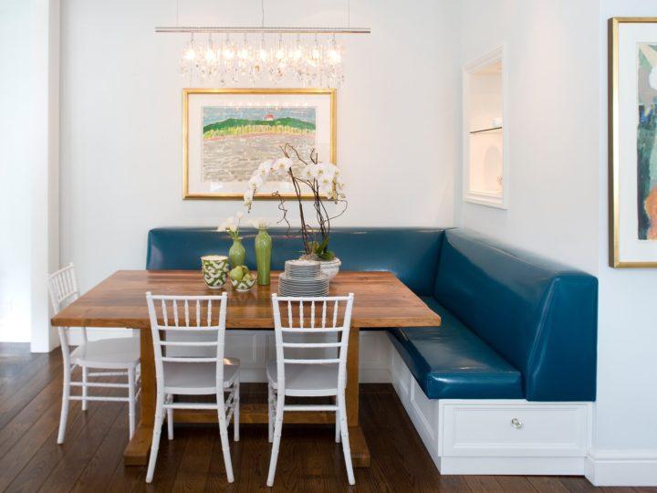 красивый диван на кухню