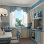 красивая кухня прованс