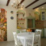 принципы оформления кухни в деревенском стиле