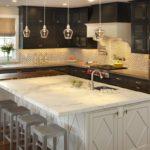 как повесить светильники на кухне