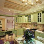 оливковая кухня прованс