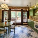 как оформить выход с кухни на веранду
