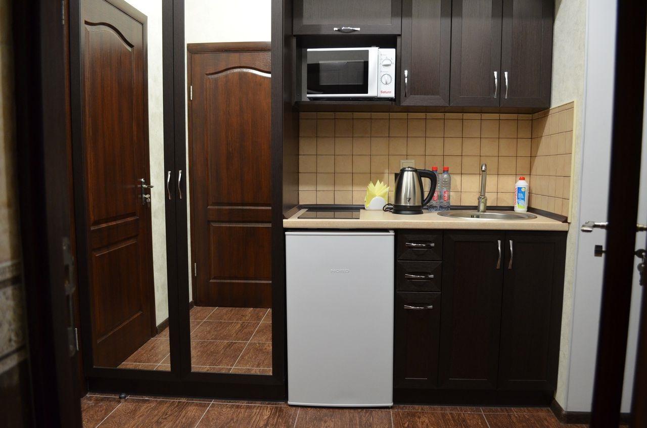 приглушенные тона для кухни и прихожей