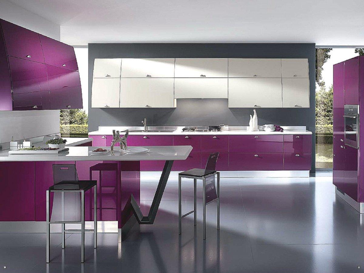 правила оформления кухни в стиле модерн