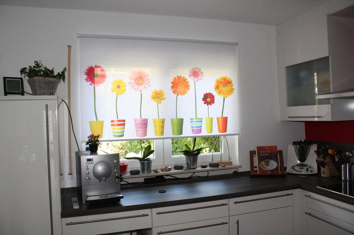 рулонные шторы на кухню - преимущества и особенности