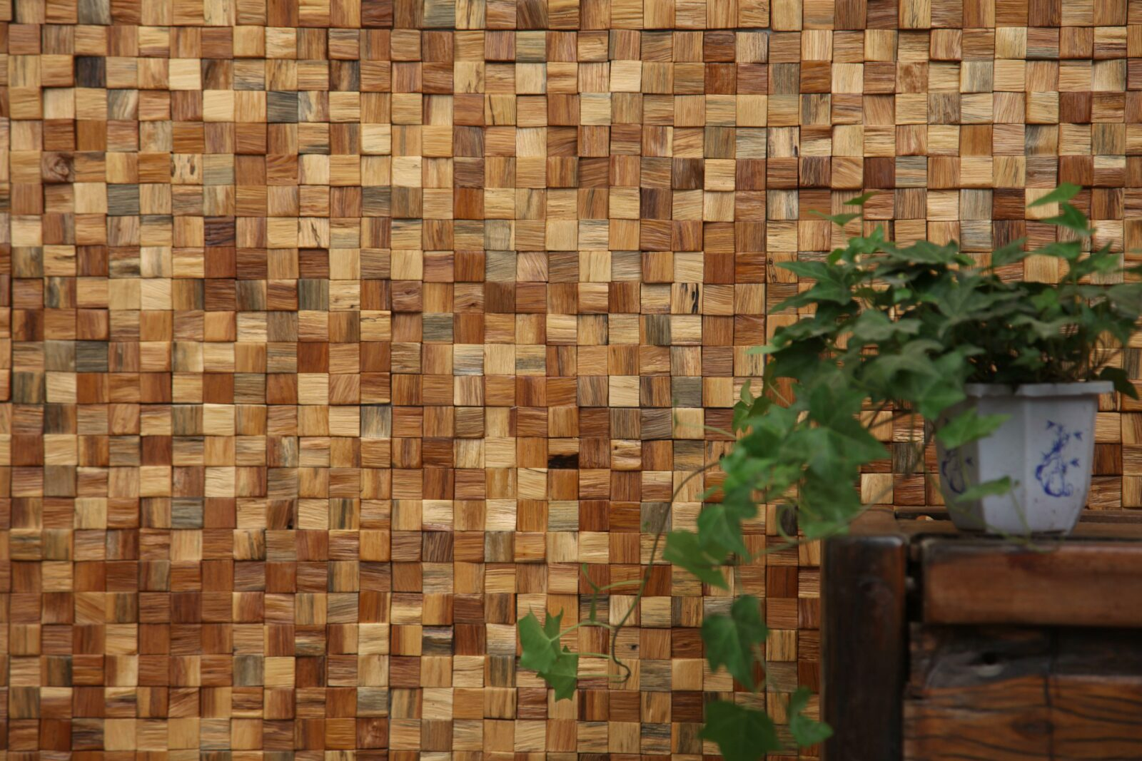 плитка мозаика под дерево