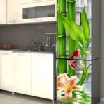 бамбук на холодильник