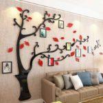 черно-красное дерево для фотографий