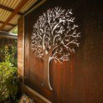 объемное настенное дерево с подсветкой