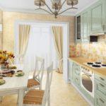 нюдовая кухня прованс