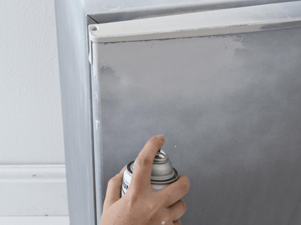 балончик для покраски холодильника