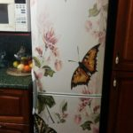 бабочки на холодильник
