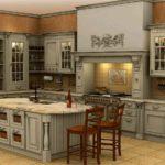 красивая и практичная обстановка на кухне