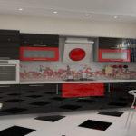 создание кухни в стиле хай-тек