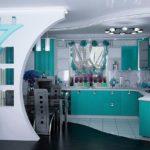 перегородка на кухне