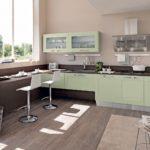 мятная кухня - как оформить