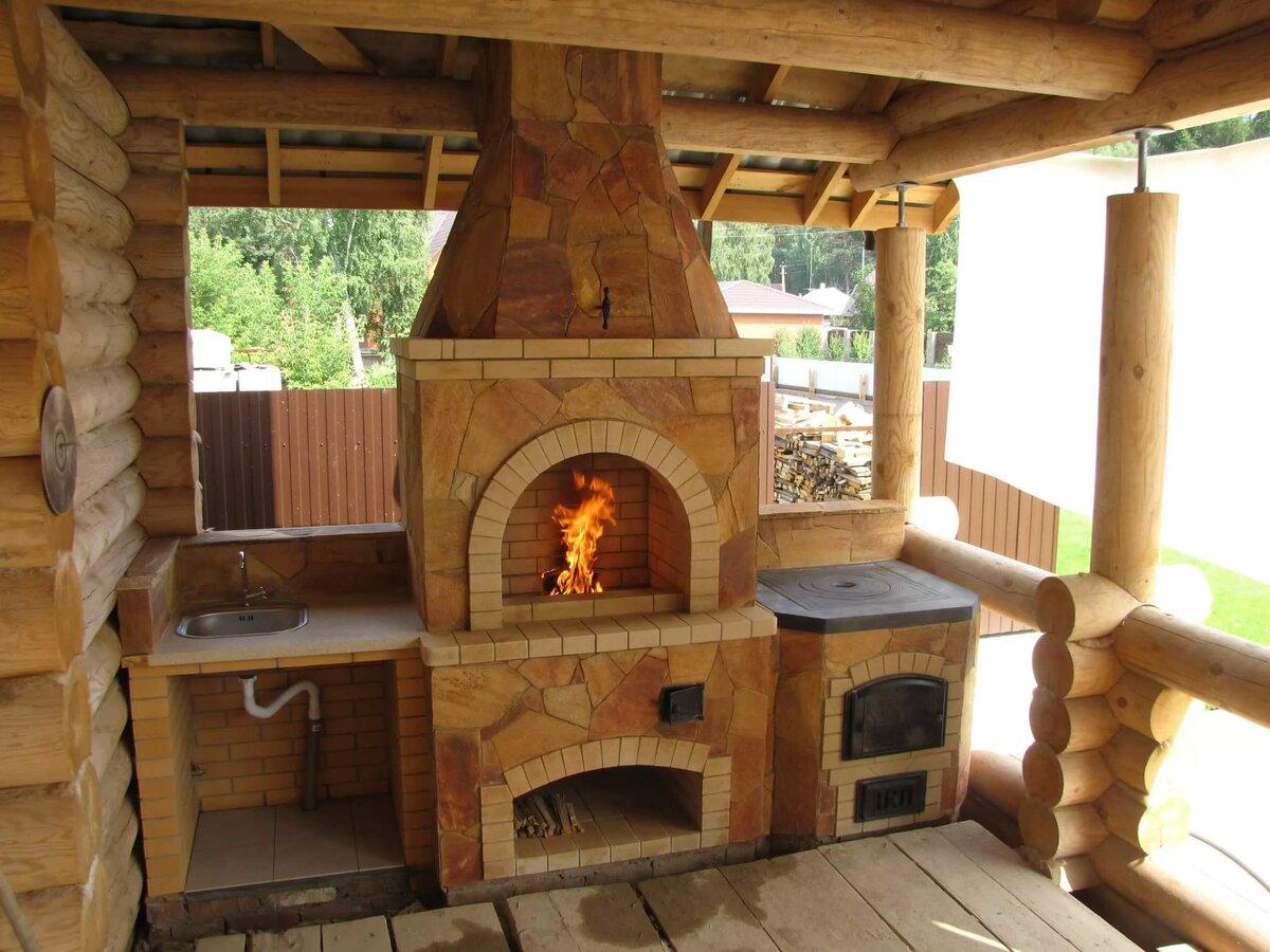 печка для веранды