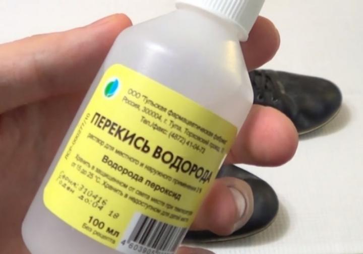 перекись водорода от запаха в холодильнике