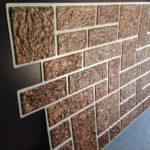 плитка из гипса коричневая