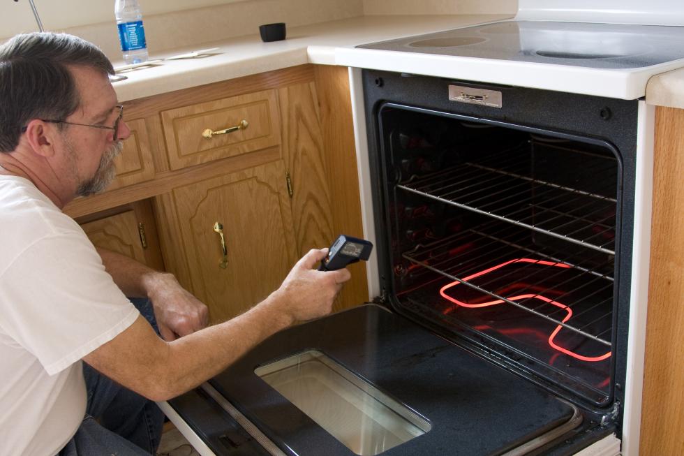 подключение электрической духовки