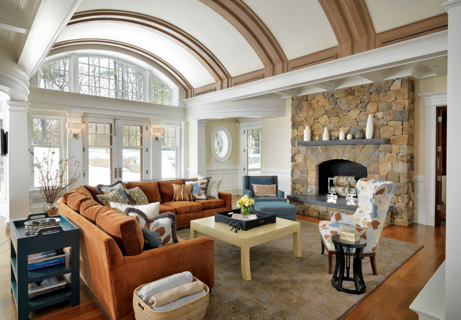 потолок в виде арки, как рассчитать площадь