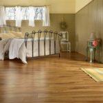 линолеум для уютной спальни