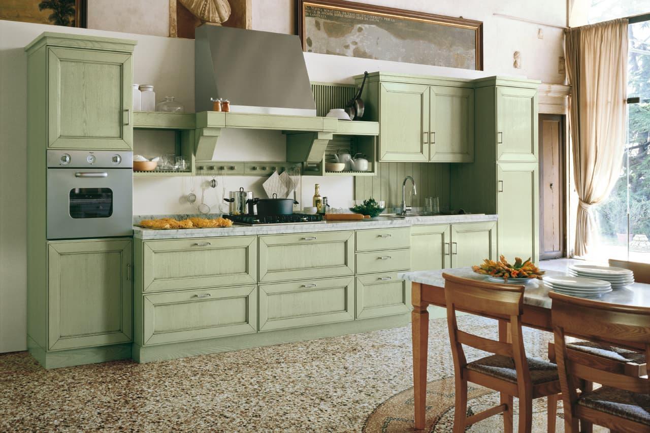 вариант оливковой кухни