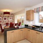 дизайн кухни большого размера в квартире