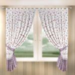 шторы - разные варианты дизайна кухонного окна