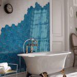 голубая испанская плитка