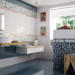 синяя испанская плитка