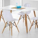 стулья с белой сидушкой