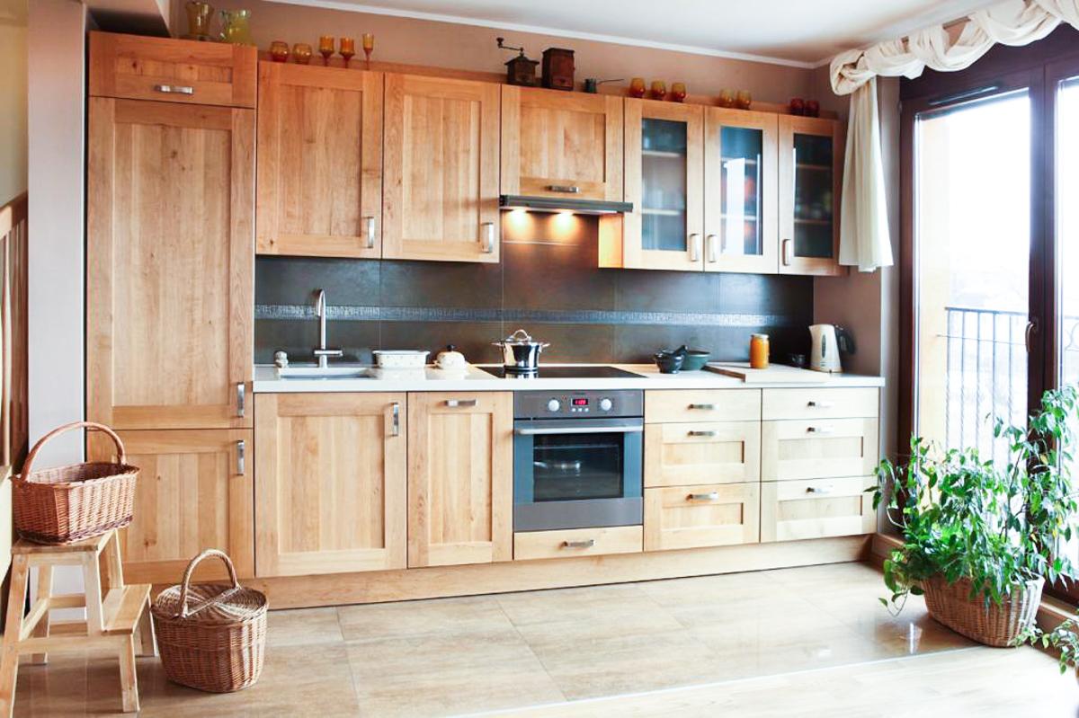вырастить фото кухни с деревянными фасадами погоня