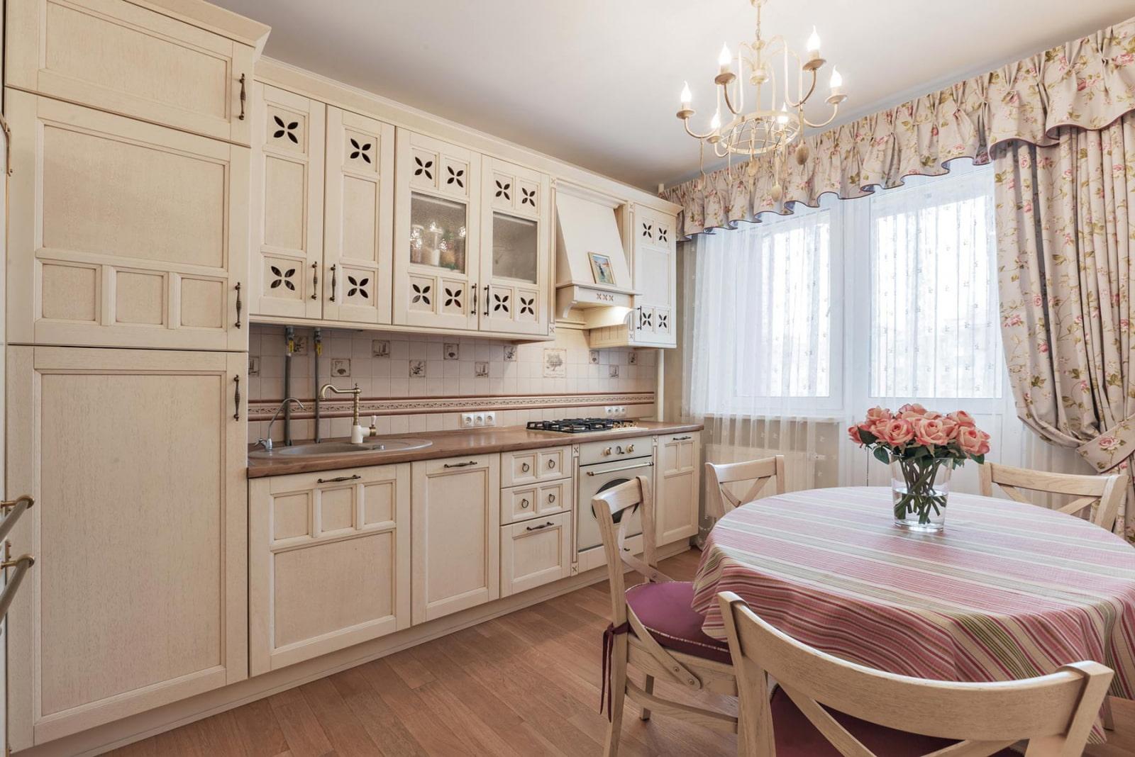 как сделать кухню просторнее и светлее