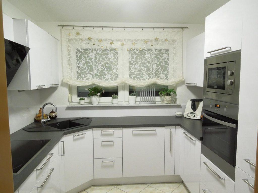 тюлевые занавески для кухонного окна