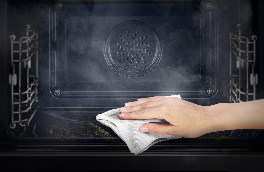 уборка духовки