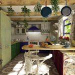 украшение кухни прованс