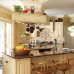 уютная кухня прованс
