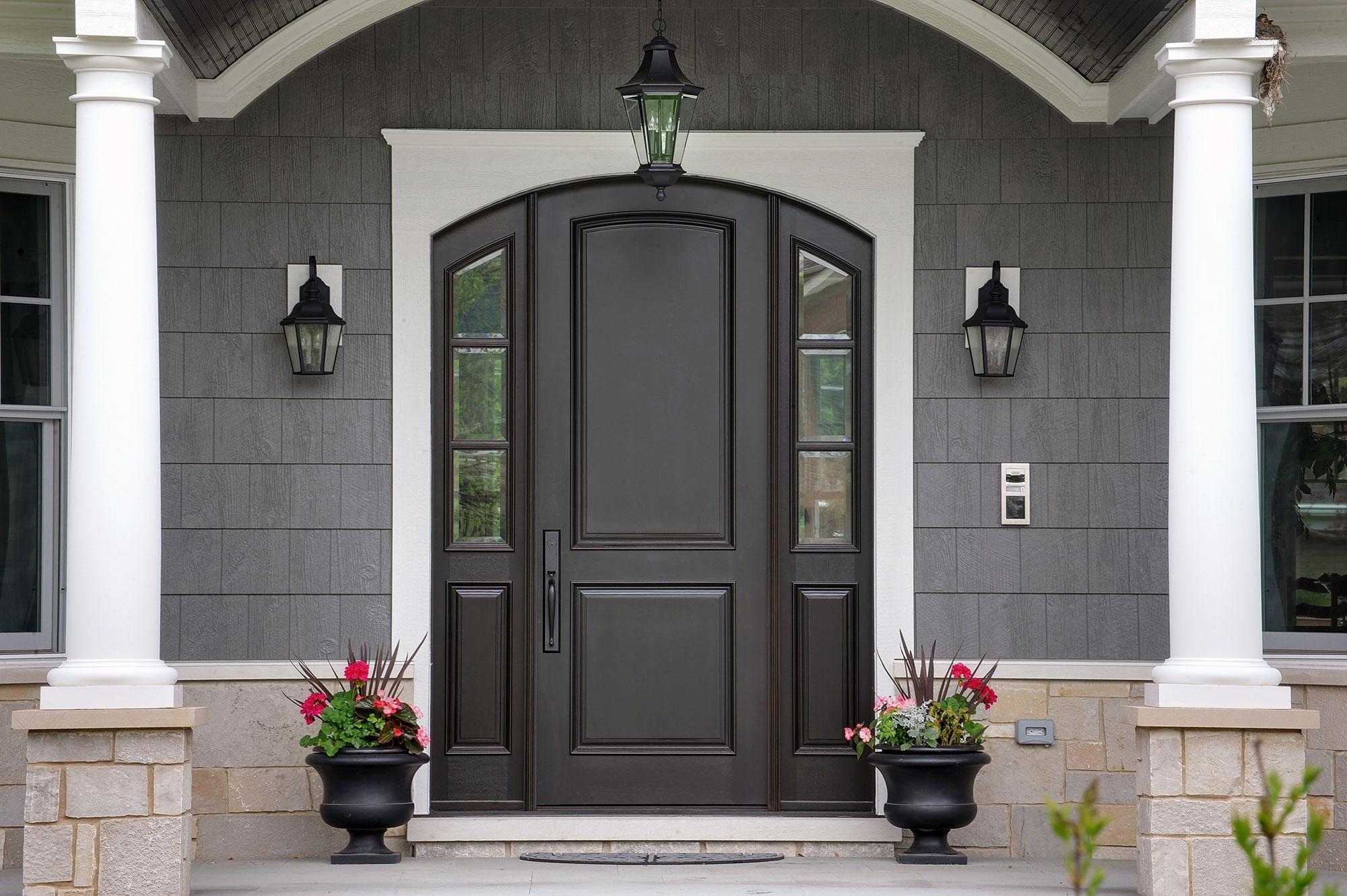 дополнительная защита двери
