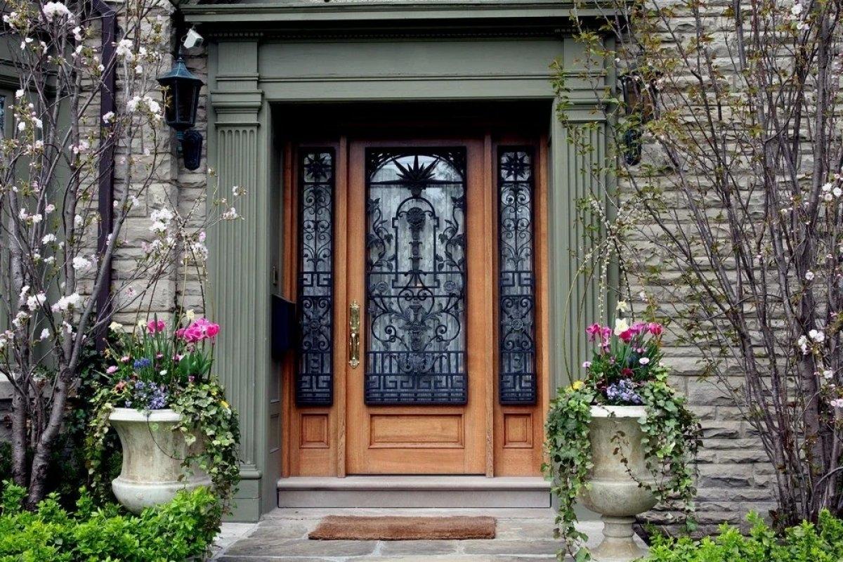 ширина дверного полотна