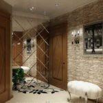 необычное зеркало в коридоре