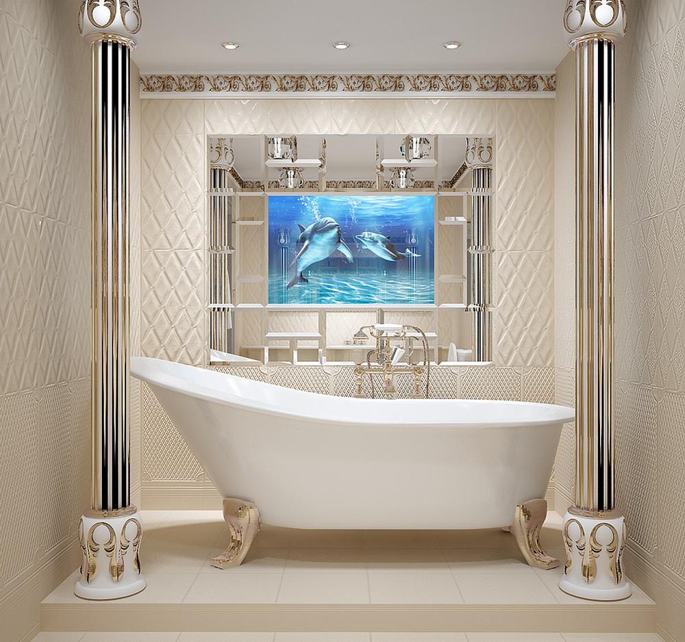 украшения ванной комнаты