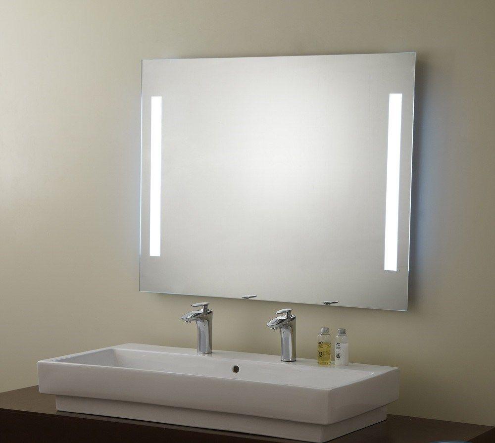 зеркало с софитами