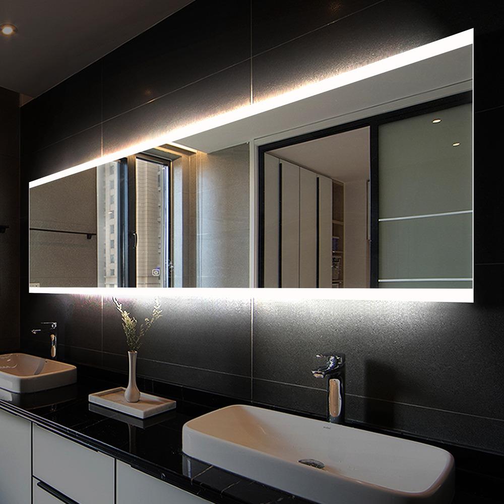 зеркало в современную ванную