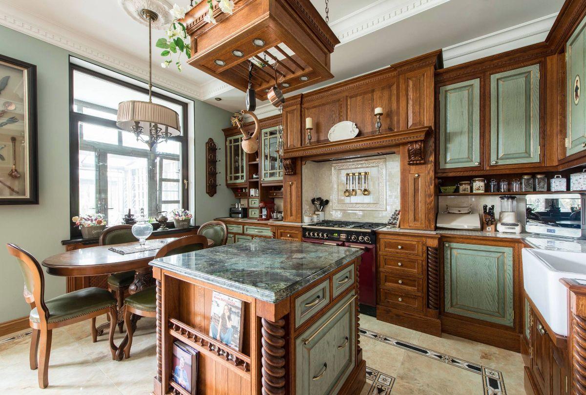 декор для кухни в английском стиле