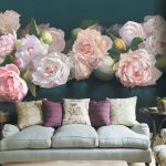 картина с цветами