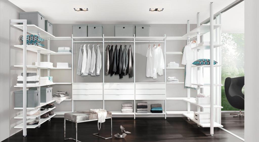 Каркас-комплекс для гардеробной комнаты