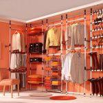 Панельная система на оранжевом фоне