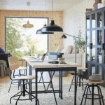 легкие удобные столы и стулья от икеа